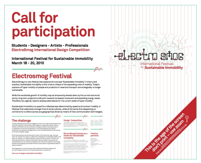 ElectroSmog Design Competition